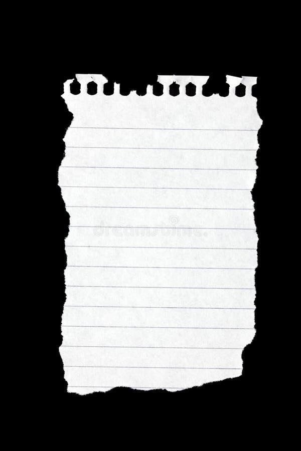 Papier de larme photos libres de droits