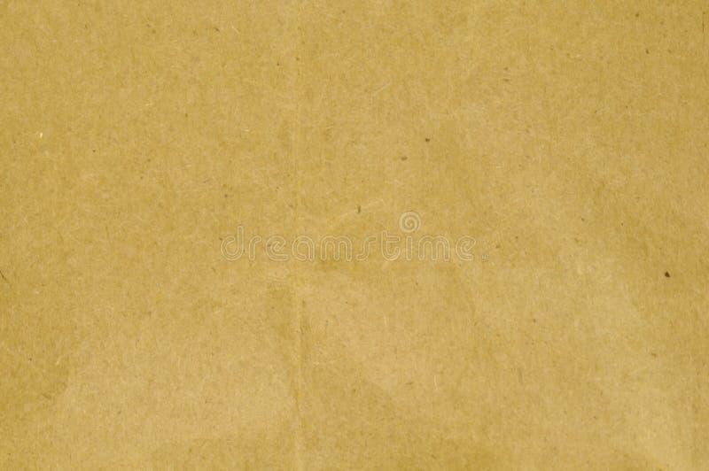 Papier de métier de Brown photo libre de droits