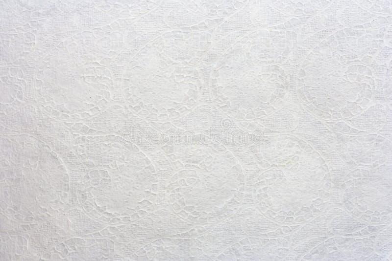 Papier de mûre blanche avec la ligne art thaï images libres de droits