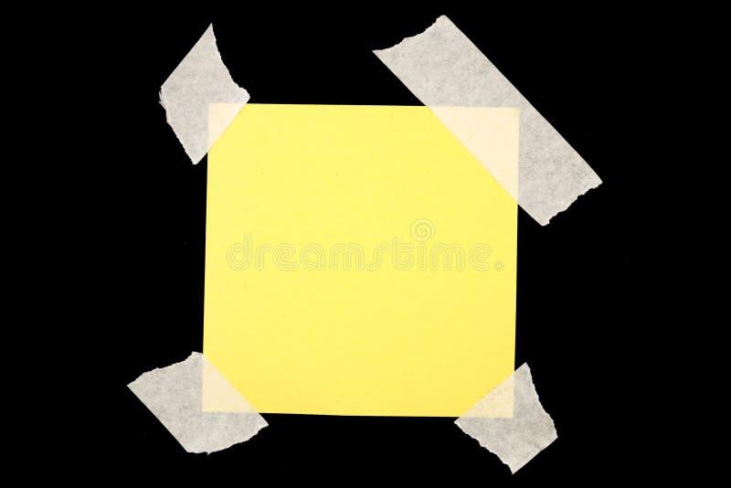 Papier de note images libres de droits