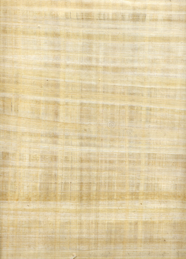 Papier de papyrus photos stock