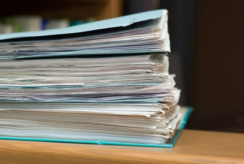 Papier de pile photos stock