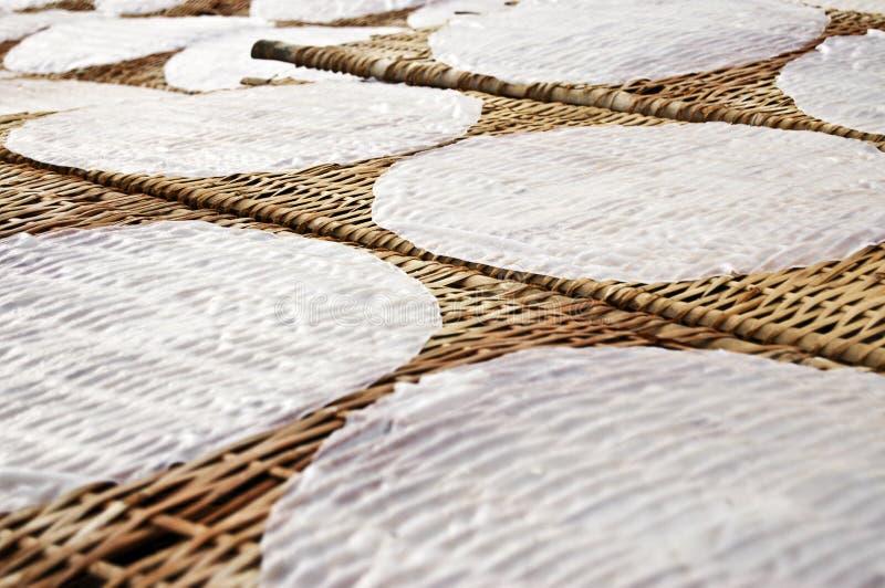 Papier de riz image stock