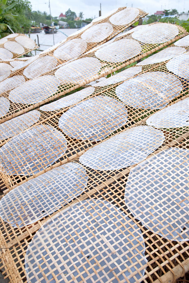 Papier de riz photos stock