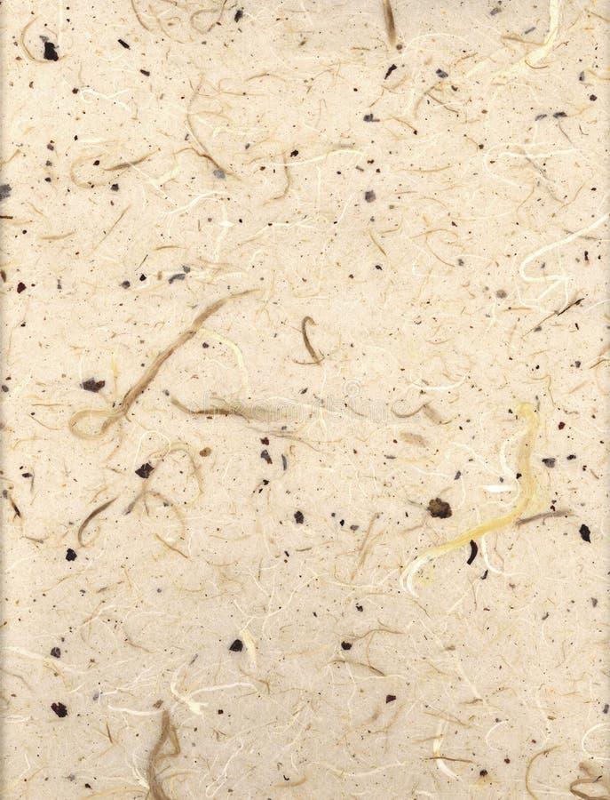 Papier de riz beige photographie stock libre de droits