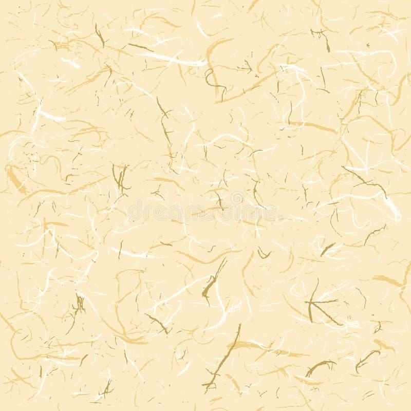 Papier de riz sans couture de texture illustration libre de droits