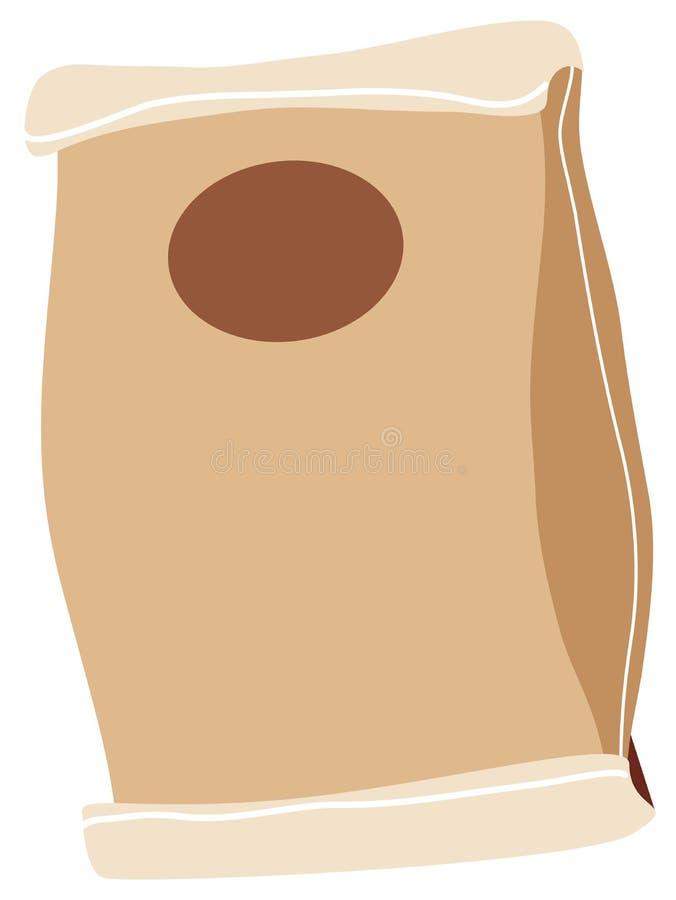 papier de sac illustration stock