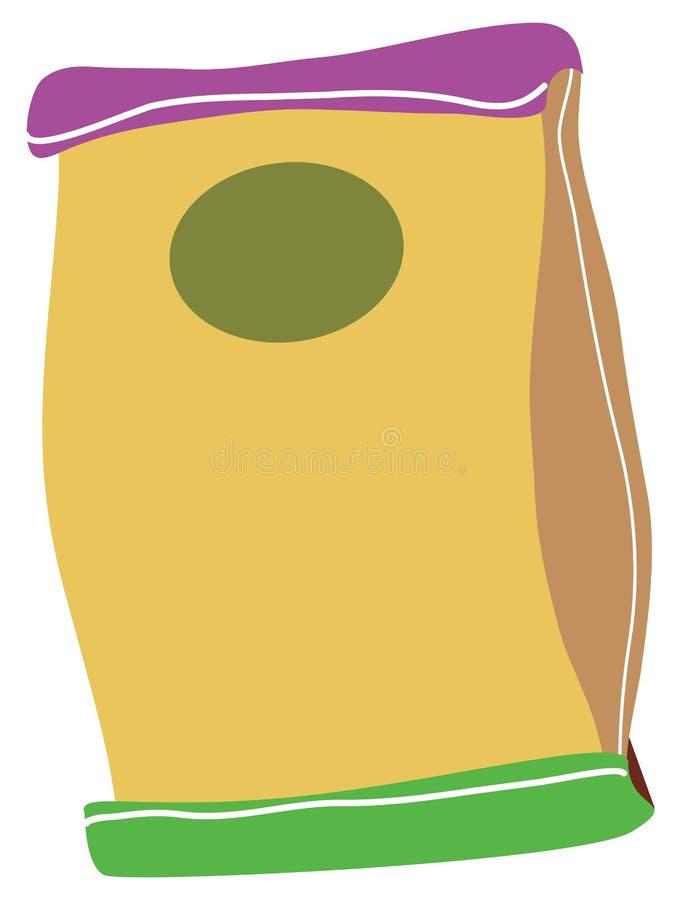 papier de sac illustration libre de droits