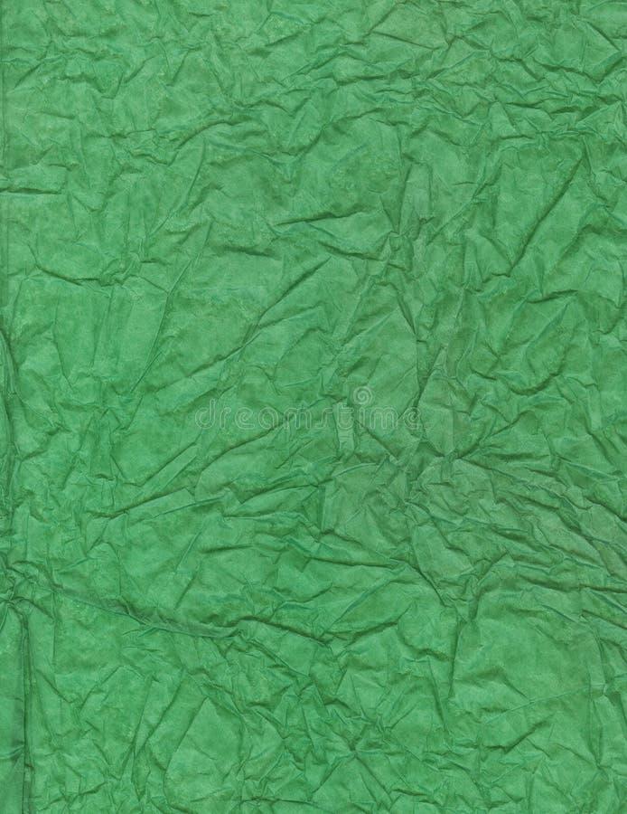 Papier de soie de soie chiffonné photo libre de droits
