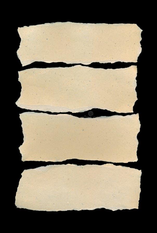 papier drzejący obrazy stock