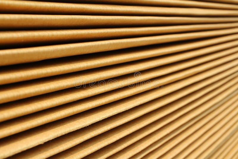 Papier en bois photographie stock libre de droits