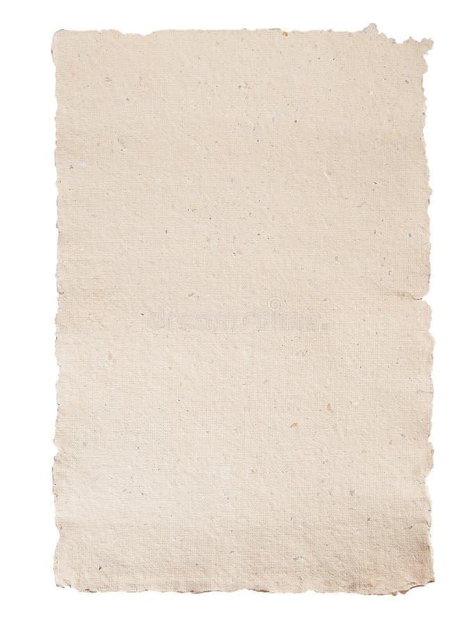 Papier fabriqué à la main images stock