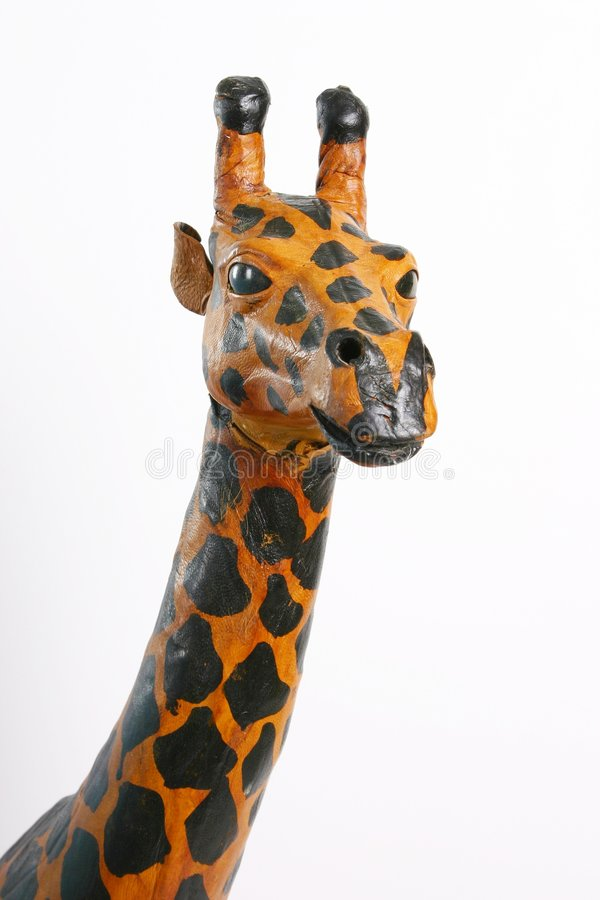 Papier - Giraffe do mache imagens de stock