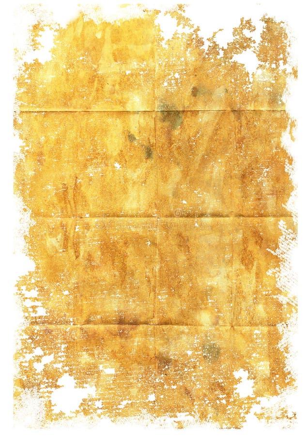 Papier grunge sur le blanc photo libre de droits