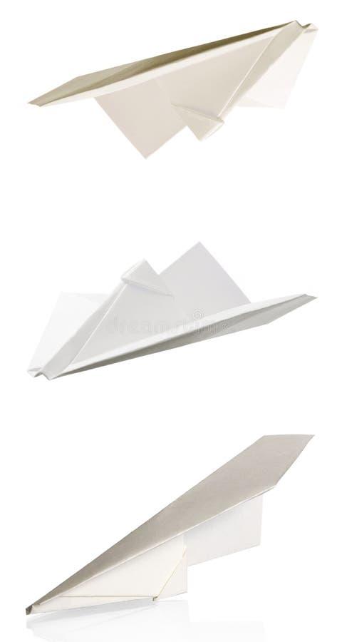 papier hebluje set obrazy stock