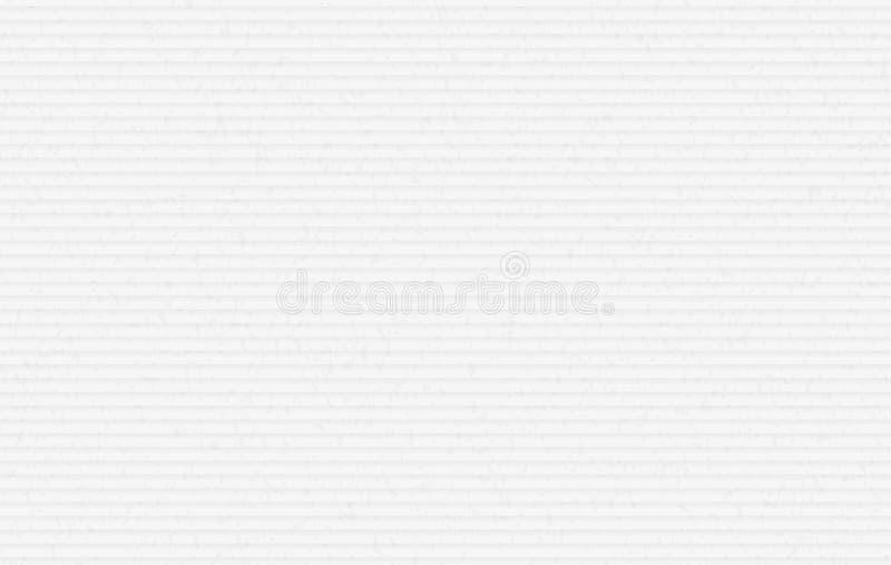 Papier horizontal grenu réutilisé par blanc pour le texte illustration libre de droits