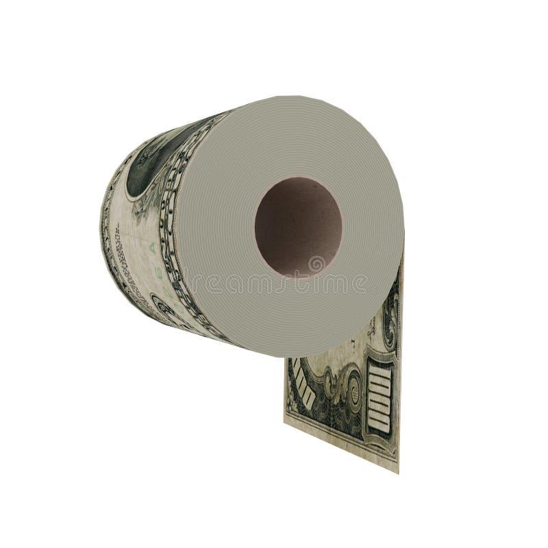 Papier hygiénique de luxe illustration de vecteur