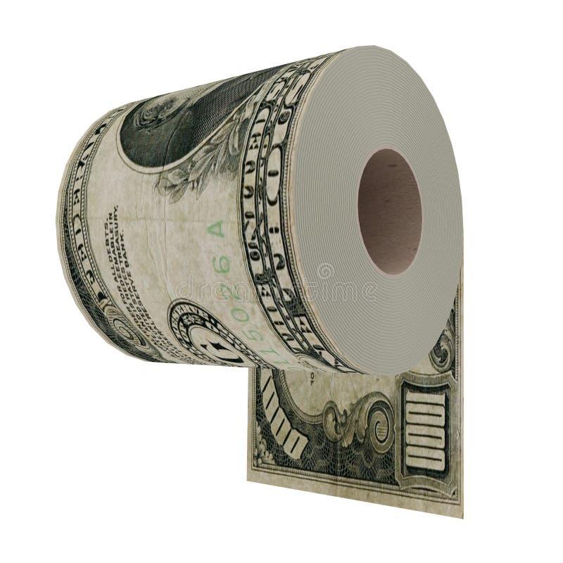 Papier hygiénique de luxe illustration stock