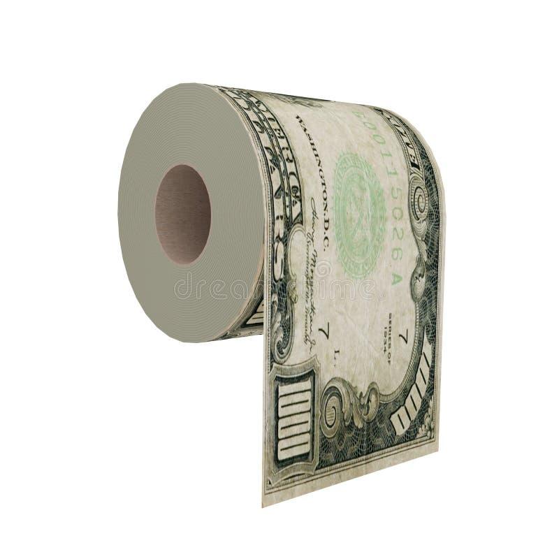 Papier hygiénique de luxe illustration libre de droits