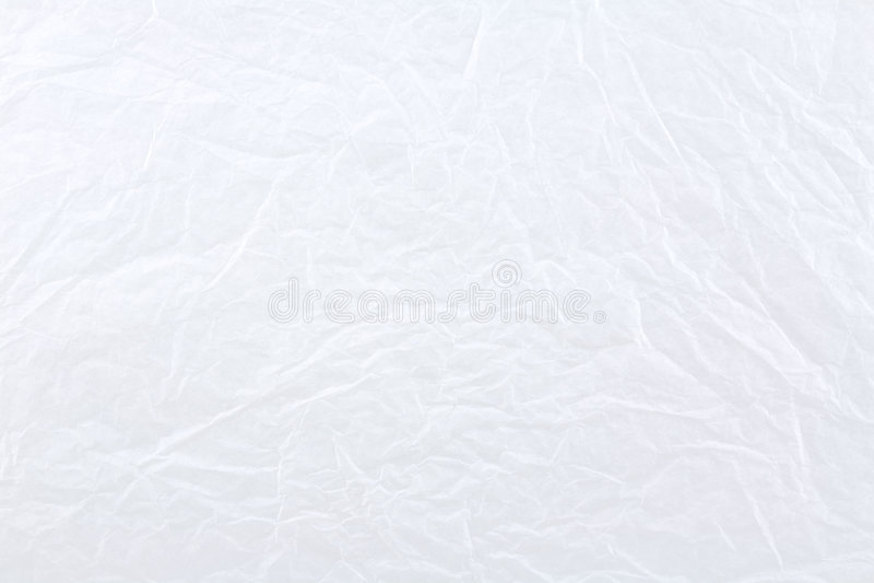 papier miący białe tło fotografia stock