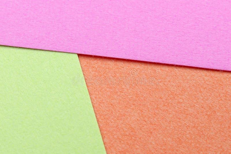 Papier multi de couleur photo libre de droits