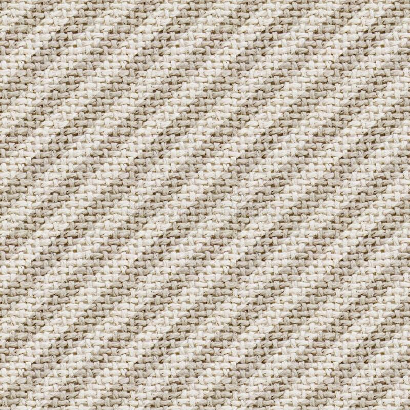 Papier numérique de texture de toile de jute - tileable, modèle sans couture photos stock