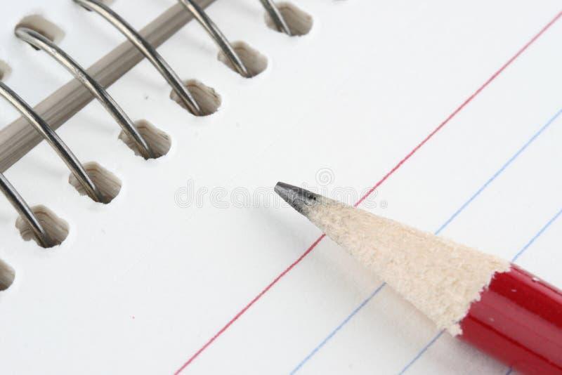 papier ołówek fotografia stock