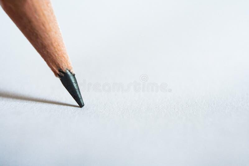 papier ołówek zdjęcie stock