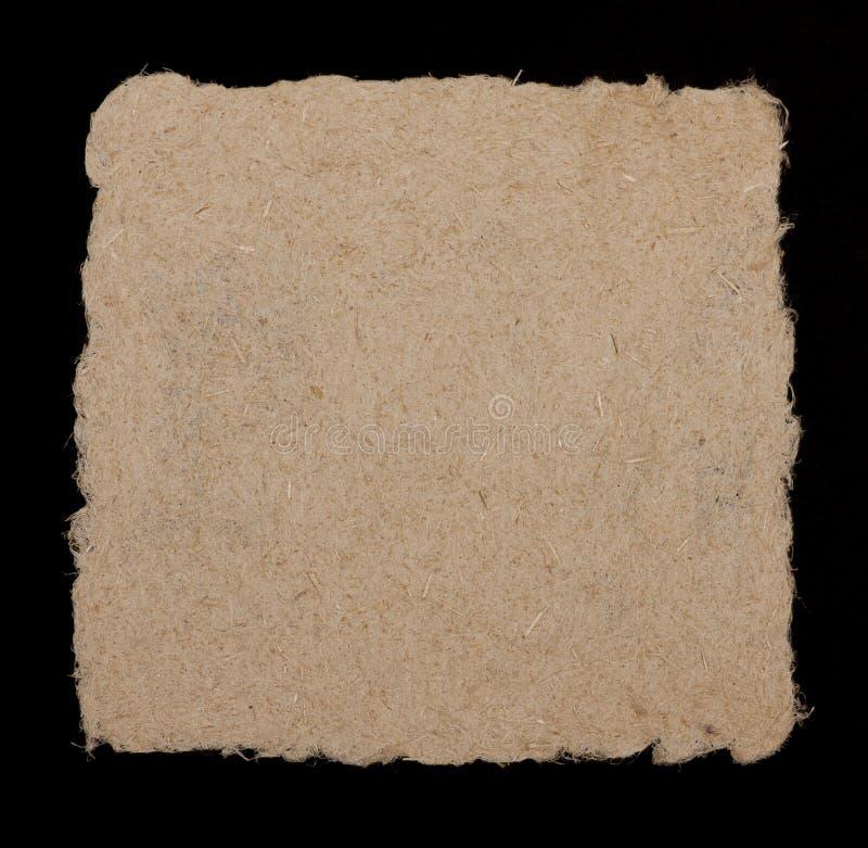 Papier od konopianych włókien fotografia stock