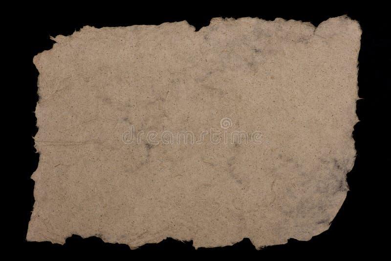 Papier od konopianych włókien zdjęcie stock