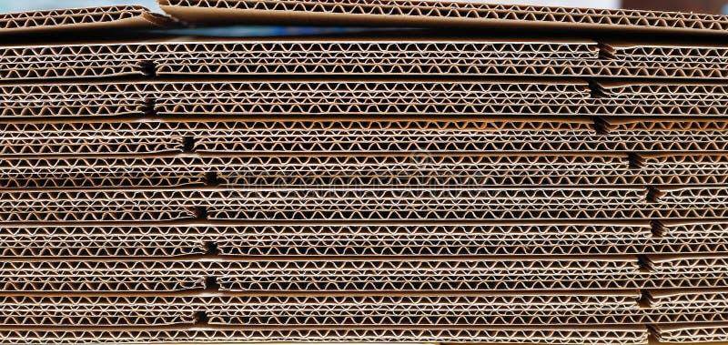 Papier ondulé photographie stock