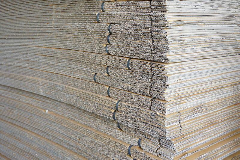 Papier ondulé abstrait photographie stock