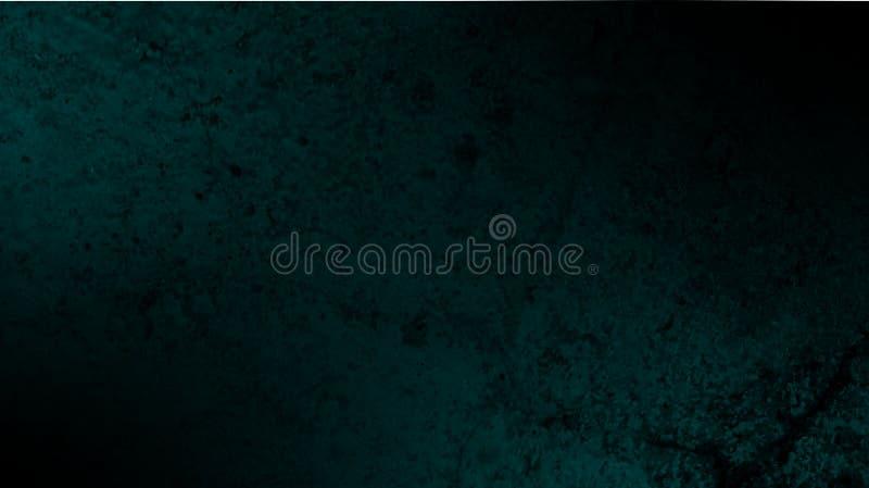 Papier peint abstrait grunge vert-foncé foncé de fond de texture illustration de vecteur