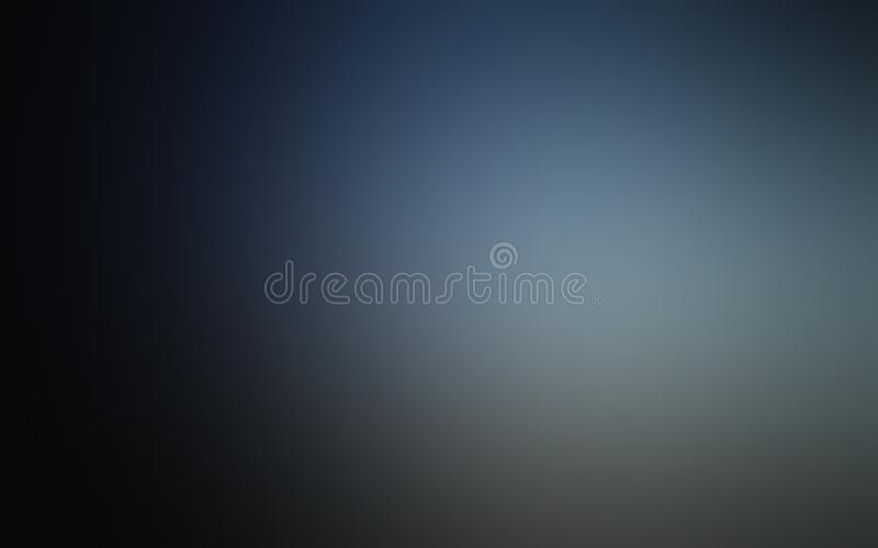Papier peint abstrait ombragé bleu et gris de fond de tache floue, illustration de vecteur photo libre de droits