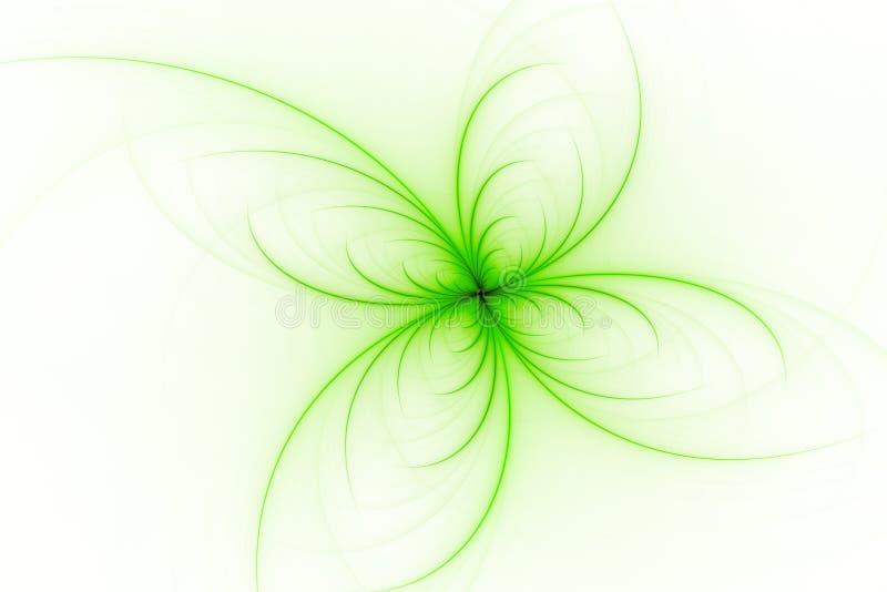 Papier peint abstrait série de fractale Fond d'art de fractale pour la conception créative Décoration pour le bureau de papier pe images stock