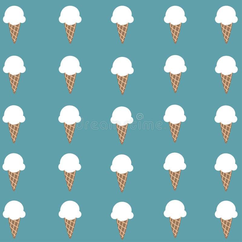 Download Papier Peint Blanc Mignon De Cornet De Crème Glacée Illustration Stock - Illustration du nourriture, passionnant: 87706217