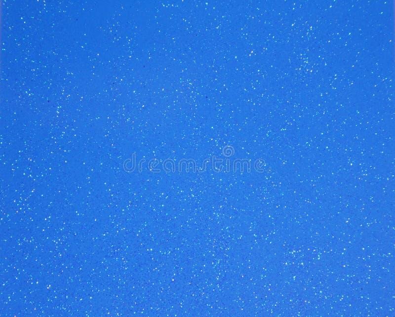 Papier peint bleu de fond de scintillement d'étincelle images libres de droits