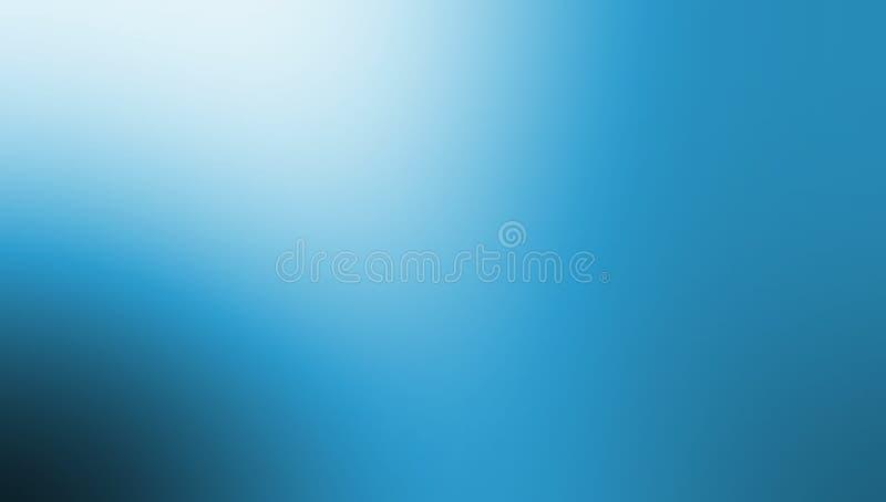 Papier peint bleu et blanc noir de fond de tache floue de couleur en pastel illustration libre de droits