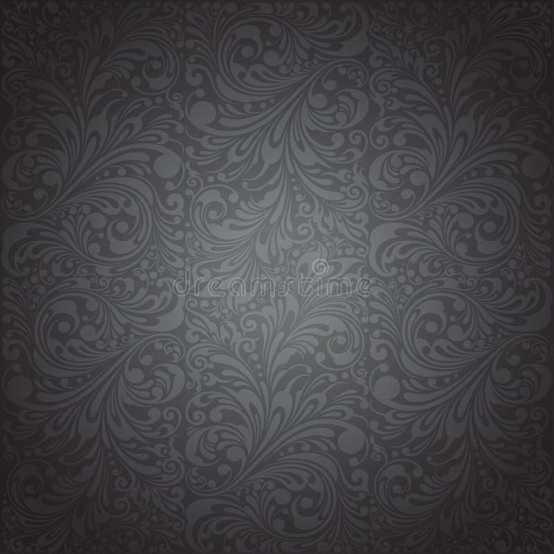 Papier peint classique d'ornement illustration de vecteur