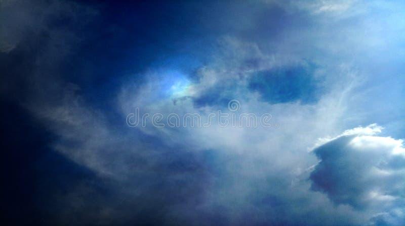 Papier peint coloré de fond de texture d'effets de mélange de nuages fumeux photos stock