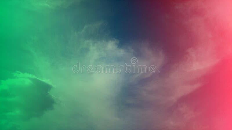 Papier peint coloré de fond de texture d'effets de mélange de nuages fumeux image libre de droits