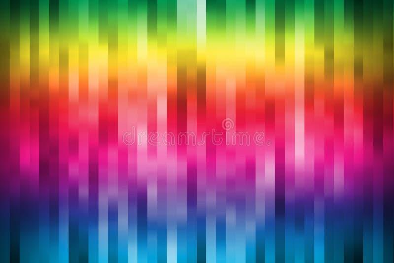 Papier peint coloré de rayure photographie stock libre de droits