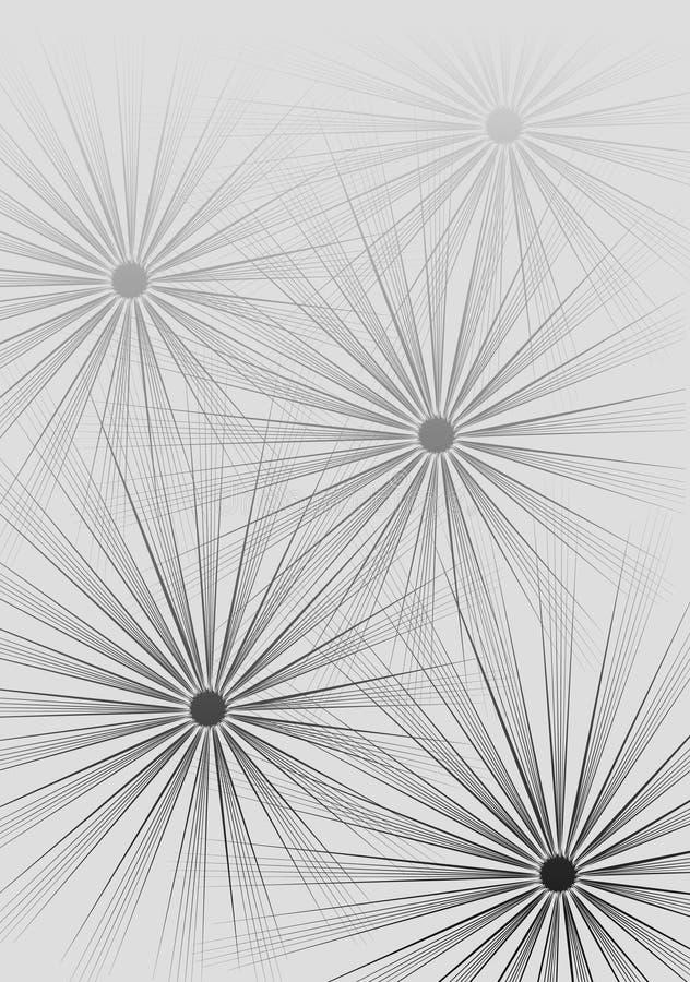 Papier Peint Créateur De Cercles Illustration de Vecteur ...