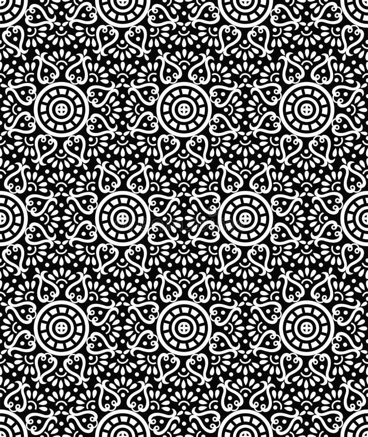Papier Peint Créateur Sans Joint De Vecteur Illustration de Vecteur ...
