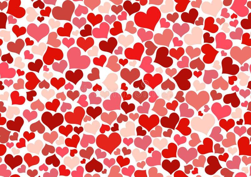 Papier peint de coeur illustration libre de droits