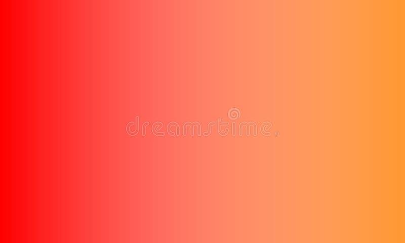 papier peint de fond ombragé par tache floue orange rouge, illustration de vecteur illustration stock