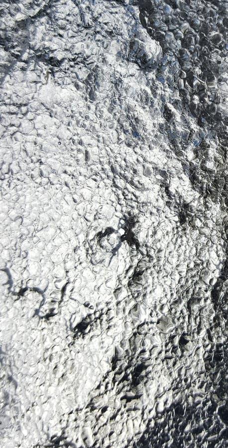 Papier peint de glace photos libres de droits