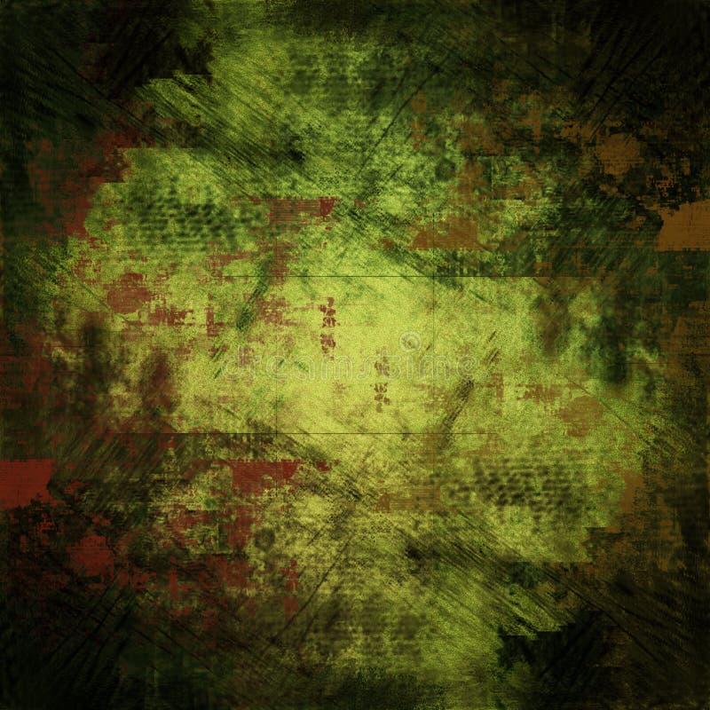 Papier peint de grunge d'Arty illustration de vecteur