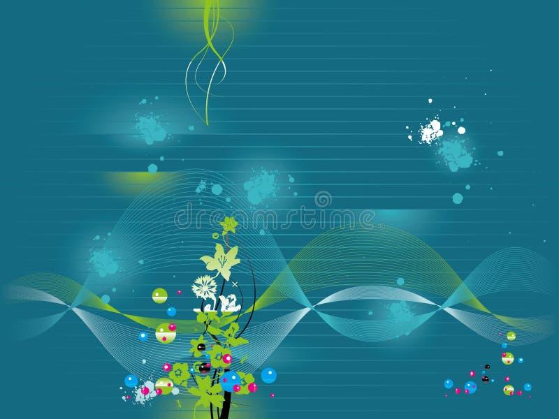 Papier peint de l'eau illustration libre de droits
