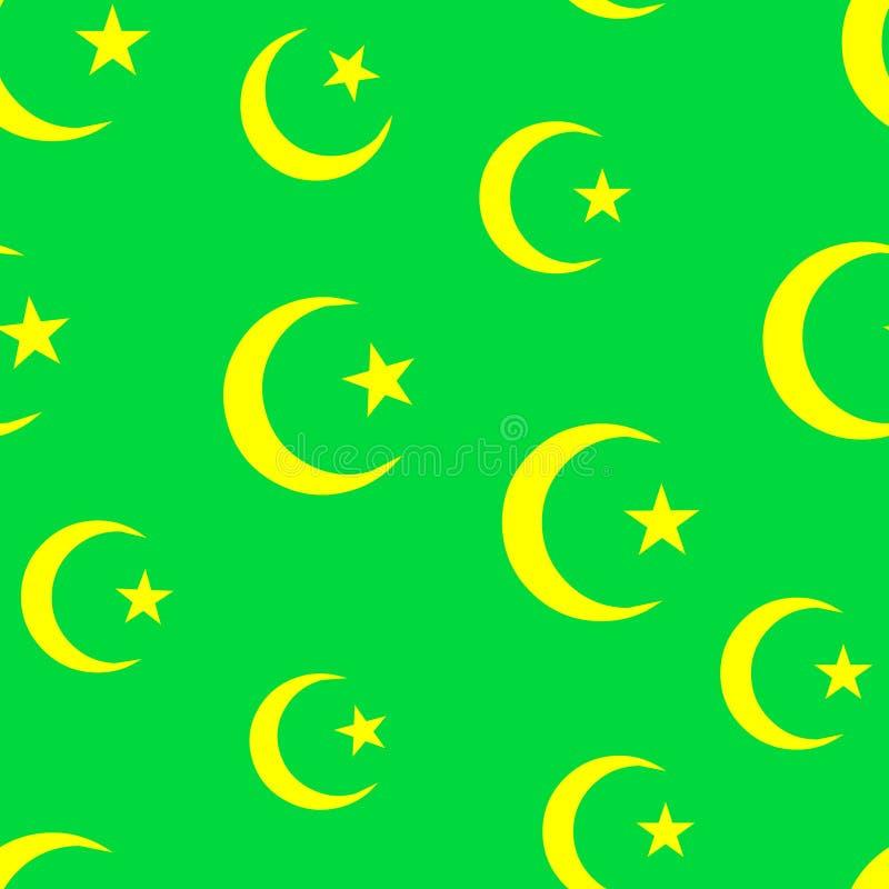 papier peint de l'Islam illustration libre de droits